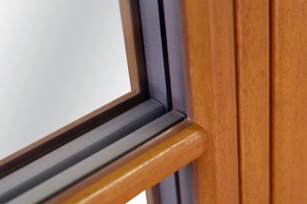 okna drewniane ze szprosem